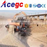 Coal/construction/mine mobile crusher movable crushing station machine Image