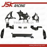 CARBON FIBER INTERIORS AIR CONDITIONING INLET SURROUND (10 PCS) RHD FOR FERRARI 458 ITALIA ( PLAIN WEAVE )(JSK110222)