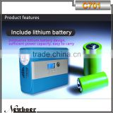 Mini portable electric balloon inflator air pump tire inflator