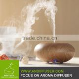 Aroma Diffuser Wood Grain LED Electric Ultrasonic Aromatherapy Scented Essential Oil Diffuser Cool Mist Humidifier Air Purifier