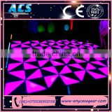 dj equipment china led dance floor rechargeable rgbw multi-color dmx 432pcs led modular dance floor