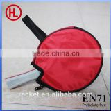 promotional poplar wooden ping pong table tennis racket set with PVC racket bag wholesale