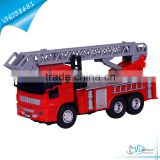 Plastic Fire Truck Toy for Sale with Scaling Ladder