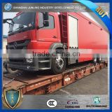 Pumper apparatus fire truck benz chassis for sale/ fire truck specification/fire truck dimension