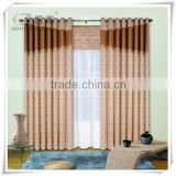 Yilian Latest Design Elegant Wide Width Embroidered Sheer Curtain