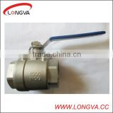 2 PCS Stainless Steel Ball Valve,Two Pieces Ball Valve