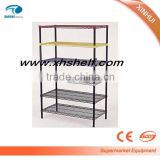 2015 hot sale, upscale and high quality Wire shelf rack with different color epoxy coating