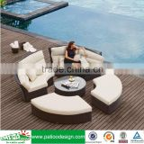 wicker balcony furniture set