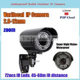1080p night vision cctv 2.8-12mm lens camera
