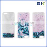 [GGIT] New Arrival Wholesale Colorful Bling Bling Liquid Cover Mobile Phone Case for iPhone 6