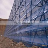 high quality and low price metal dust suppression and wind proofing wall for coal minesand coking plants