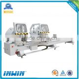Aluminum window door machinery / aluminum profile used cutting saw