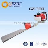 Gasoline hedge trimming machine 0.65kw single side blade agriculture hedge cutters machines GZ-750