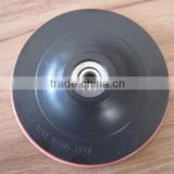 4inch,5inch flexible backing pad polishing for stone, metal, wood