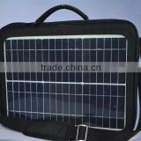 "Waterproof High Efficient 15w Convenient Solar Charger Backpack For 15"" laptop Mobile Phone Iphone Digital Camera MP3 MP4 GPS"