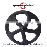 MeyerGlobal best quality 700C chinese 5 spoke carbon track fixie wheels single speed T800