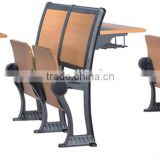 waiting room chair / airport bench chair / seating bench wooden seat
