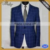 top woolster-charcoal wool suit with CE certificate