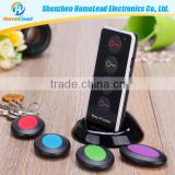 Fashion Design Electronic Gadget 2015 Key Finder with LED Light (1 transmitter, 4 receiver)