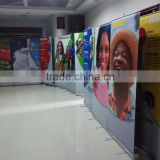 Aluminum roll up stand banner, pull up display,flex roll up
