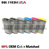 for HP DJ T610/T620/770/790/1100/1120/1200/1300 HP72 Pigment & dye ink compatible cartridge