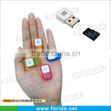 Small Keyboard button USB2.0 USB Smart Card Reader
