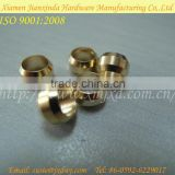 Precison Round Type Turning Parts CNC Brass Ring