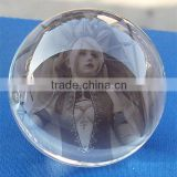 wholesale K9 top quality glass crystal ball photo frame                                                                         Quality Choice