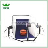 "TS-LK01 Studio Lighting Photobox Kit Portable Tripod, Table Light, Backdrop In A 16"" Box"