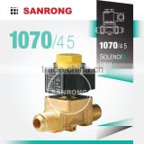 INquiry about 2 Way Brass Refrigerator Solenoid Valve with 110v 220v AC for R134a R410A, 1070/4 1070/5 Castel Air Conditioner Solenoid Valve