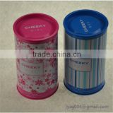 recyclable Feature customized designed china factory directly tin can/tin case/promotional metal round tin box for coffee