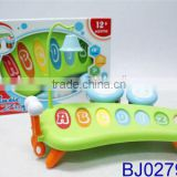 Funny new kid toy Hot plastic musical instrument toy drum kit
