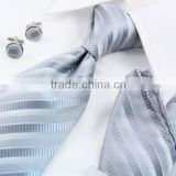 Luxury mens mixed colors hanky cufflink tie set                                                                         Quality Choice