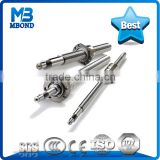 End machining for TR10*3 Stainless Steel 8mm Lead Screw