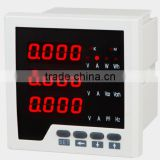 96*96 Three-phase electric network multifunction power meter(LED)with energy power pulse output