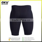 Low Price Wholesale Custom Men's Fitness running compression shorts/Bodybuliding gym shorts,Three Quarters Cool Compression Pant