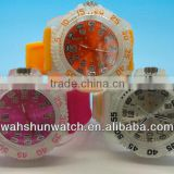 Jelly color lighting watches at ball wholesale in dongguan manufacturer