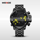 New Hot WEIDE Wrist Band mens watches top brand luxury Men Male Clock Quartz Movement Military Fashion Soprts Watches