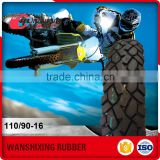 Alibaba Website Import Motorcycle Tyre Casing From China 110/90-16 TL