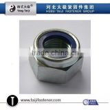 Nylon lock nut unc ,unf Nylon Insert Nuts with DIN985,DIN982 Zinc Plated m6,m8,m10,m12,m14,m16,m18,m20