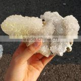 Fantasy Small Clear Crystal Cluster Quartz Crystal Geodes from Madagascar