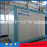Safe and secure cheap high qulity asy installation flat packed movable living container house