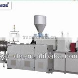 plastic pipe water machine/upvc line manufacturer