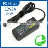 AC/DC power adapter lcd led 12V 2A 30W for samsung dell lg lcd Display power 12v 24w led adapter