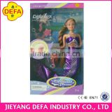 Defa 20983 Swimming Chinese Wholesale Toy Bonnie Mermaid Dolls with little Toys for Children