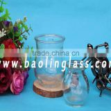 Glass vase, vintage bottle , bud vase wholesale