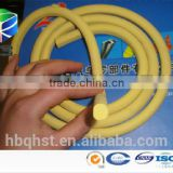 Custom make extruded epdm sponge soft foam rubber rope/rubber cord 4mm