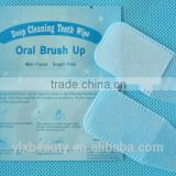 Teeth whitening wipes finger brush wholesale price in bulk