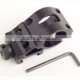 black steel qd mount, barrel mount, quick release mount