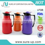 Hot sale ABS plastic thermos glass liner water vacuum coffee jugs(JGAD)
